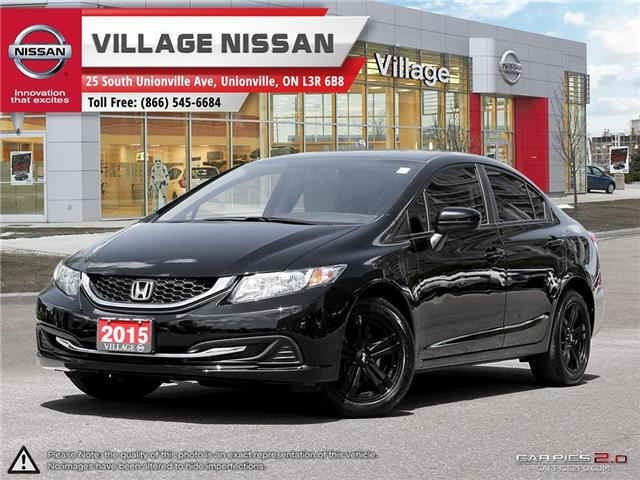 2015 Honda Civic LX (Stk: 80543A) in Unionville - Image 1 of 27