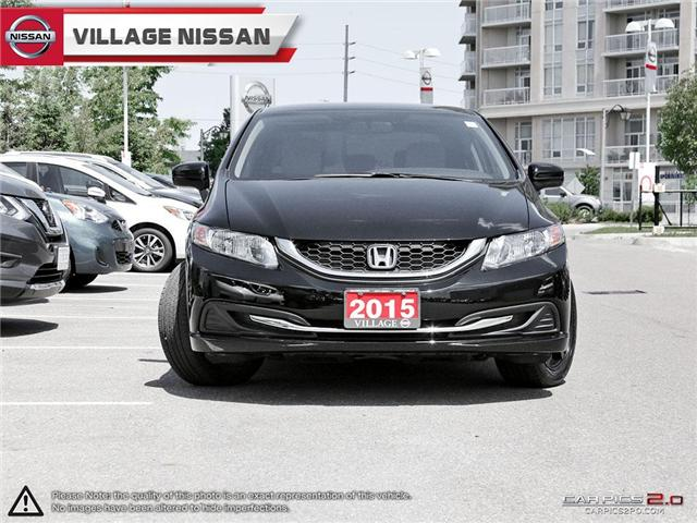 2015 Honda Civic LX (Stk: 80543A) in Unionville - Image 2 of 27