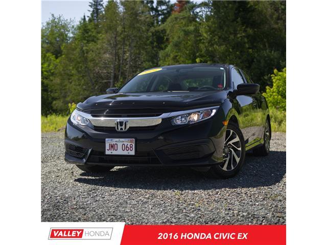 2016 Honda Civic EX (Stk: U4565A) in Woodstock - Image 1 of 13