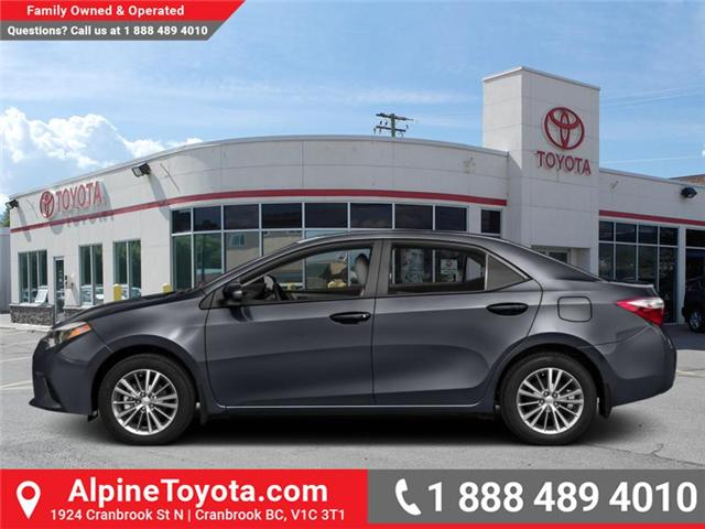 2016 Toyota Corolla  (Stk: W796045A) in Cranbrook - Image 1 of 1