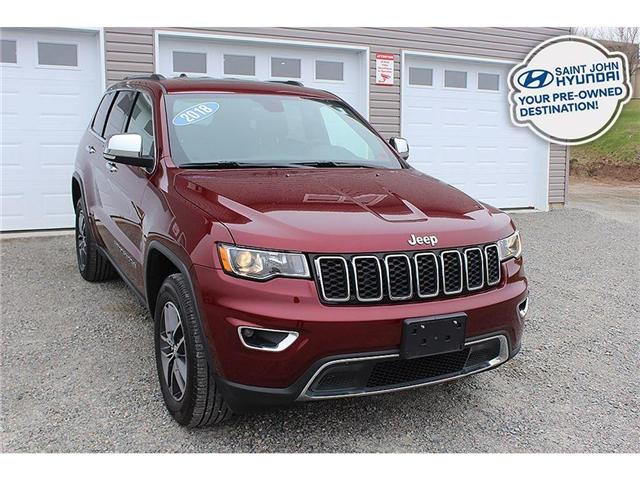 2018 Jeep Grand Cherokee Limited (Stk: U1676) in Saint John - Image 1 of 25