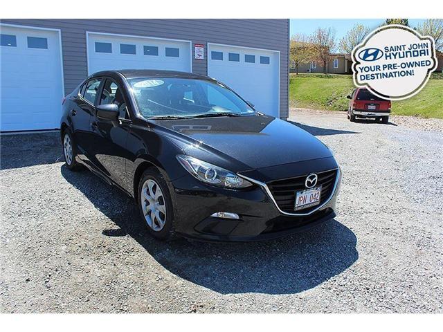 2014 Mazda Mazda3 GX-SKY (Stk: U1641) in Saint John - Image 1 of 21