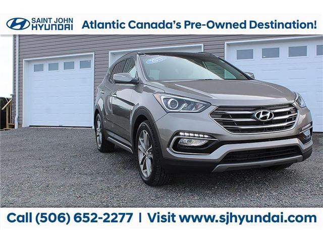 2017 Hyundai Santa Fe Sport 2.0T Limited (Stk: U1543) in Saint John - Image 1 of 19