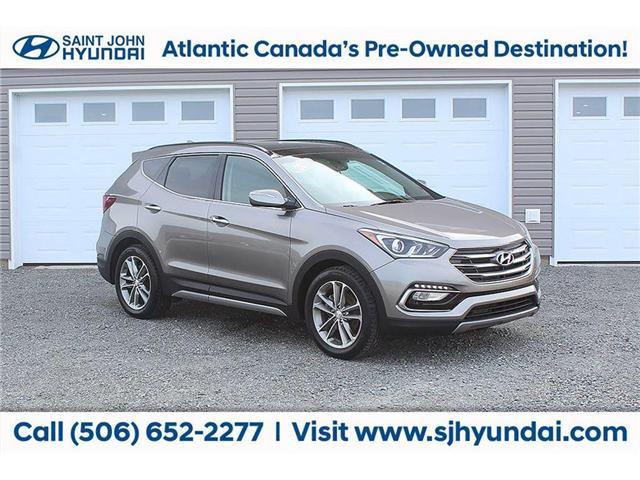 2017 Hyundai Santa Fe Sport 2.0T Limited (Stk: U1543) in Saint John - Image 2 of 19