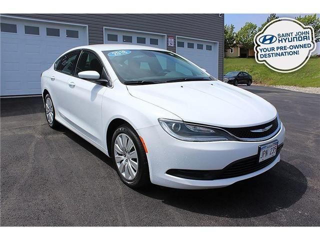 2016 Chrysler 200 LX (Stk: U1656) in Saint John - Image 1 of 19