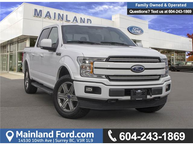2018 Ford F-150 Lariat (Stk: 8F17224A) in Surrey - Image 1 of 30