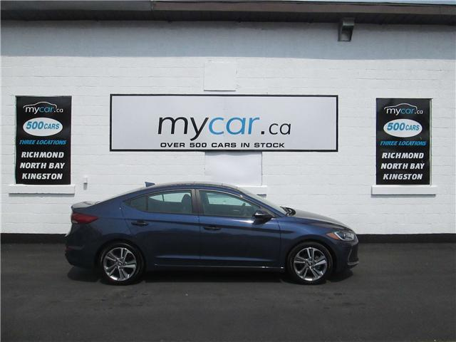2018 Hyundai Elantra GLS (Stk: 180917) in North Bay - Image 1 of 11