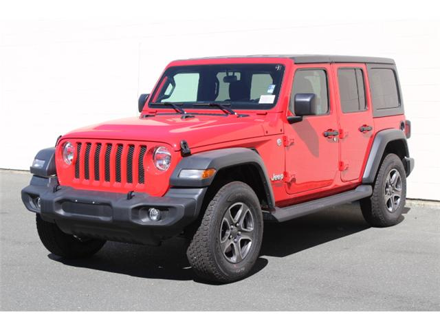 2018 Jeep Wrangler Unlimited Sport (Stk: W153691) in Courtenay - Image 2 of 30