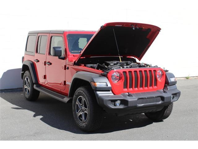 2018 Jeep Wrangler Unlimited Sport (Stk: W153691) in Courtenay - Image 29 of 30