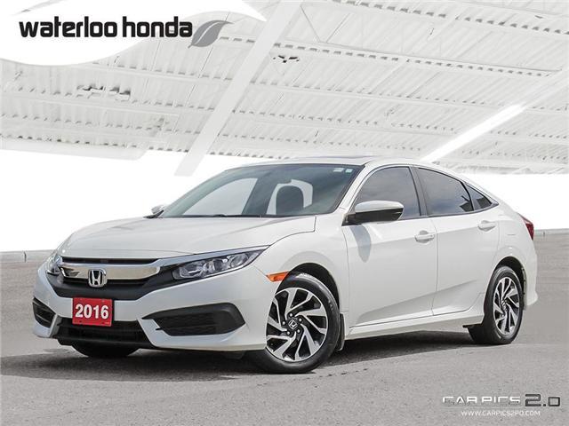 2016 Honda Civic EX (Stk: U4175) in Waterloo - Image 1 of 28
