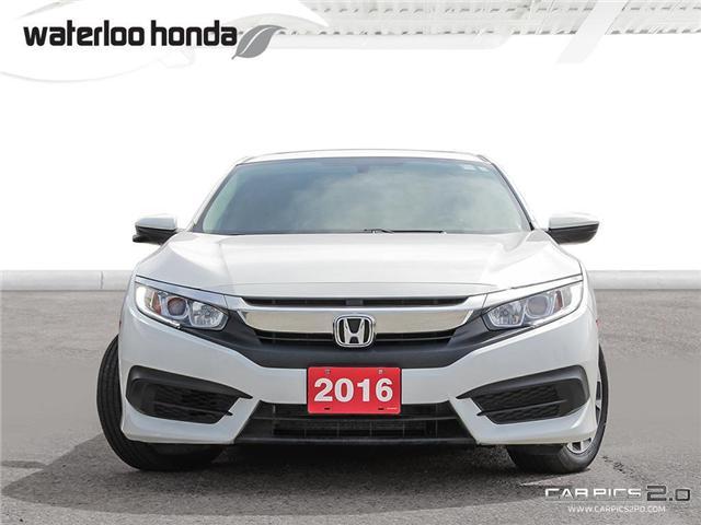 2016 Honda Civic EX (Stk: U4175) in Waterloo - Image 2 of 28