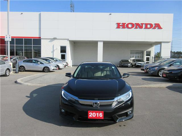 2016 Honda Civic Touring (Stk: 25349L) in Ottawa - Image 2 of 10