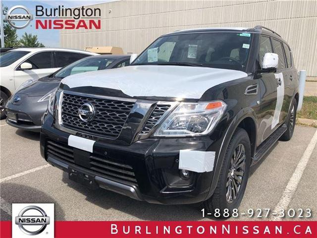 2018 Nissan Armada Platinum (Stk: X4360) in Burlington - Image 1 of 5
