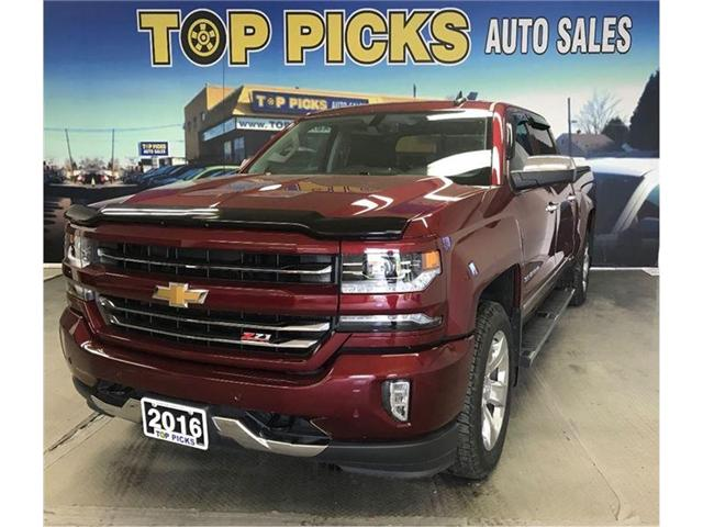 2016 Chevrolet Silverado 1500 LTZ (Stk: 343313) in NORTH BAY - Image 1 of 18