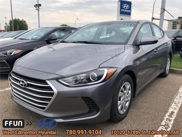 2018 Hyundai Elantra LE (Stk: EL82916) in Edmonton - Image 1 of 1