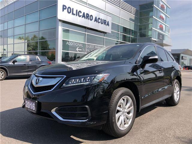 2016 Acura RDX Base (Stk: 800445P) in Brampton - Image 1 of 14