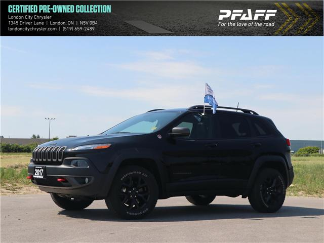 2017 Jeep Cherokee Trailhawk (Stk: 8673A) in London - Image 1 of 27