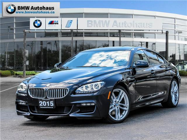 2015 BMW 650 Gran Coupe  (Stk: N18679A) in Thornhill - Image 1 of 12