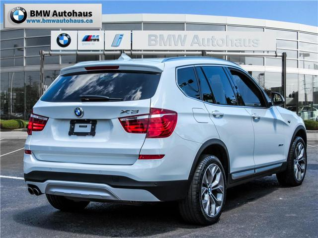 2015 BMW X3 xDrive28i (Stk: P8425) in Thornhill - Image 5 of 14