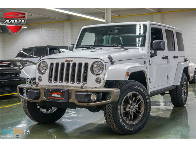2017 Jeep Wrangler Unlimited Sahara (Stk: ) in Oakville - Image 2 of 28