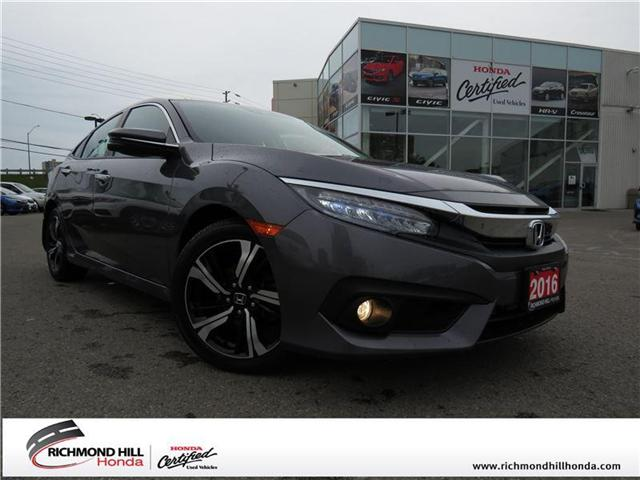 2016 Honda Civic Touring (Stk: 2006P) in Richmond Hill - Image 1 of 20