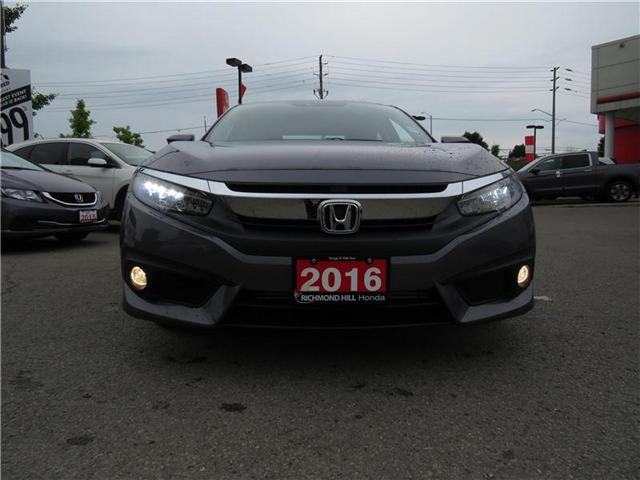 2016 Honda Civic Touring (Stk: 2006P) in Richmond Hill - Image 2 of 20