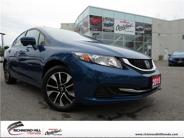 2015 Honda Civic EX (Stk: 180735P) in Richmond Hill - Image 1 of 17
