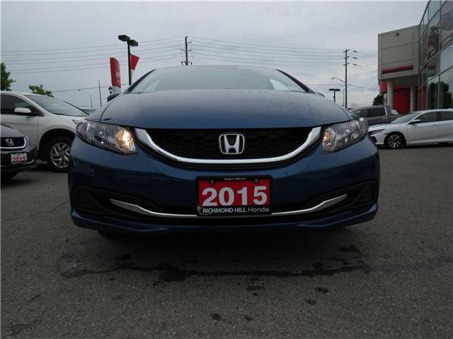 2015 Honda Civic EX (Stk: 180735P) in Richmond Hill - Image 2 of 17