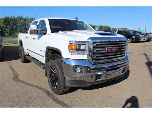 2017 GMC Sierra 3500HD SLT (Stk: 149147) in Medicine Hat - Image 1 of 25