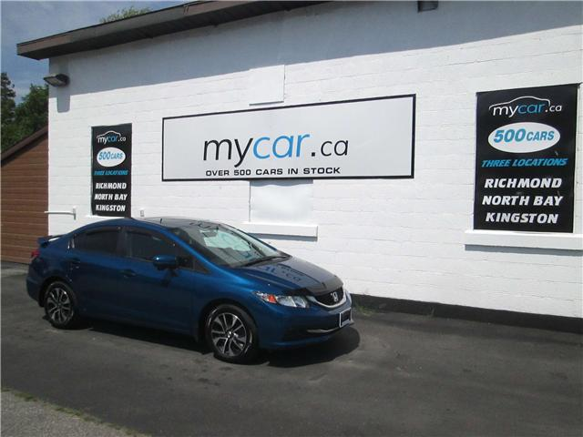 2015 Honda Civic EX (Stk: 180769) in Kingston - Image 2 of 12