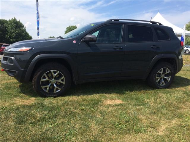 2016 Jeep Cherokee Trailhawk (Stk: 18141A) in Rockland - Image 2 of 13