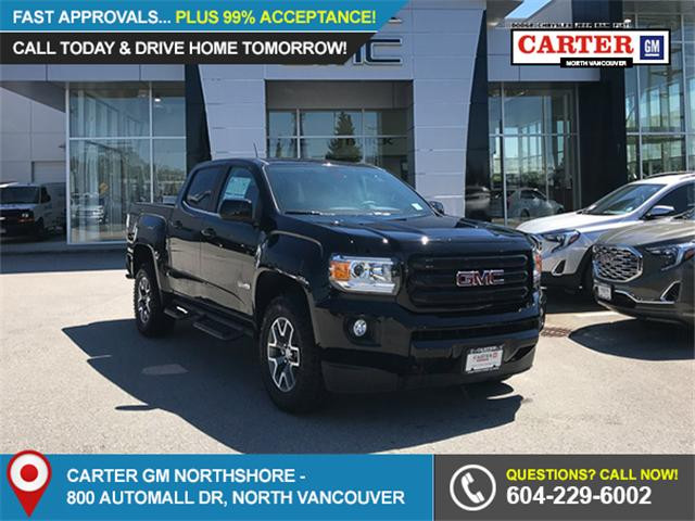 2018 GMC Canyon All Terrain w/Cloth (Stk: 8CN22290) in Vancouver - Image 1 of 7