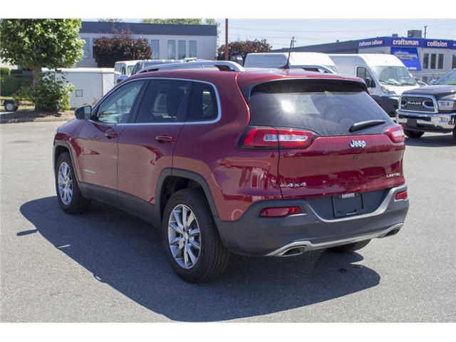 2017 Jeep Cherokee Limited (Stk: EE888740) in Surrey - Image 5 of 26