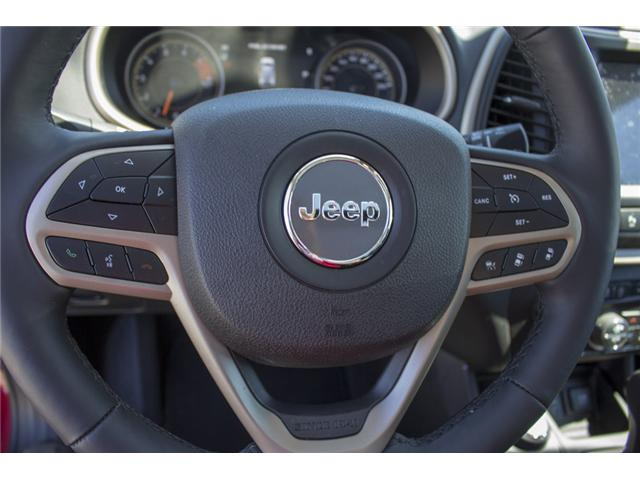 2017 Jeep Cherokee Limited (Stk: EE888740) in Surrey - Image 19 of 26