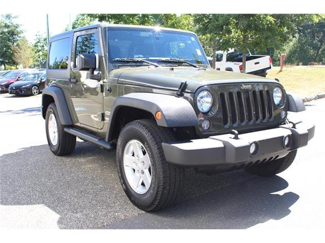 2015 Jeep Wrangler Sport (Stk: 11623A) in Courtenay - Image 1 of 23