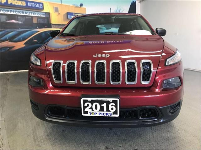 2016 Jeep Cherokee Sport (Stk: 334034) in NORTH BAY - Image 2 of 17