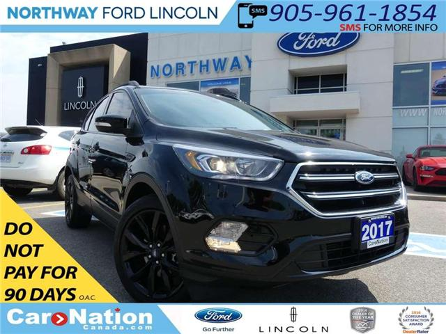 2017 Ford Escape Titanium | LOW KM | NAV | PANO ROOF | TOW PKG | (Stk: TN84182C) in Brantford - Image 1 of 26