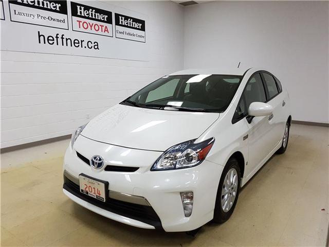 2014 Toyota Prius Plug-in Base (Stk: 185646) in Kitchener - Image 1 of 22