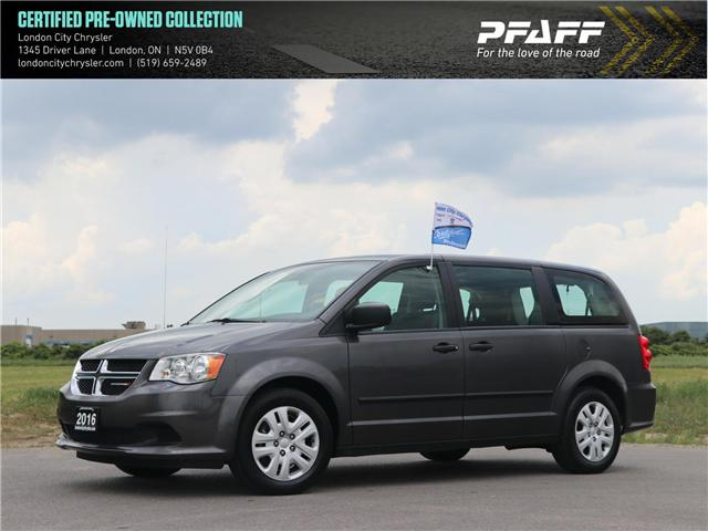 2016 Dodge Grand Caravan SE/SXT (Stk: 8714A) in London - Image 1 of 20
