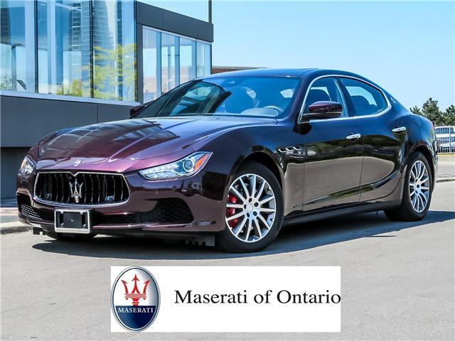 2017 Maserati Ghibli S Q4 (Stk: 1458MA SERV) in Vaughan - Image 1 of 29