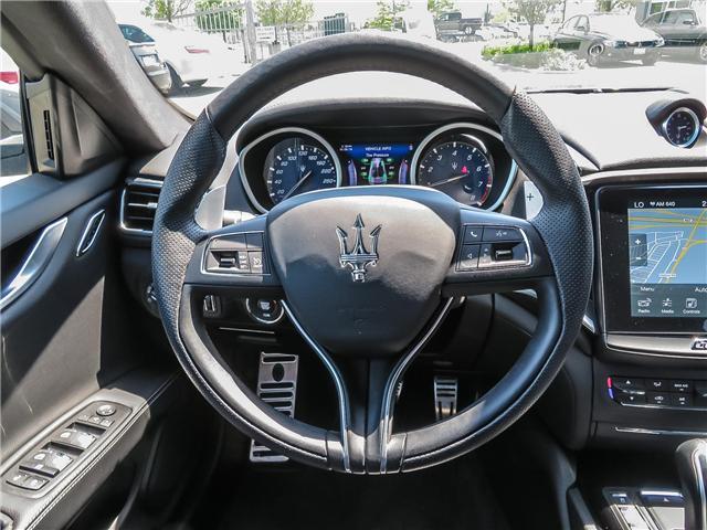 2017 Maserati Ghibli S Q4 (Stk: 1528MA SERV) in Vaughan - Image 13 of 29