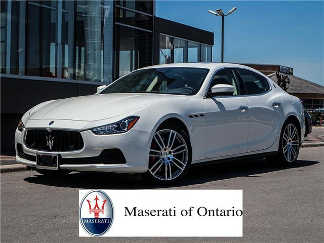 2017 Maserati Ghibli S Q4 At 84987 For Sale In Vaughan Maserati