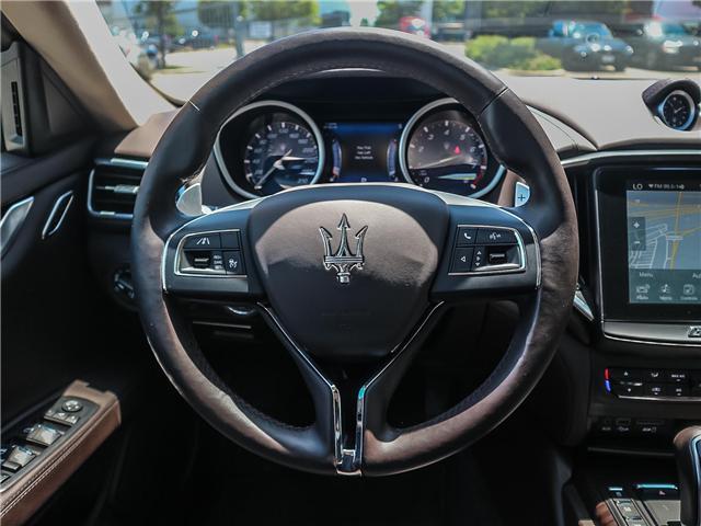 2017 Maserati Ghibli S Q4 (Stk: 1794MA SERVICE) in Vaughan - Image 11 of 25