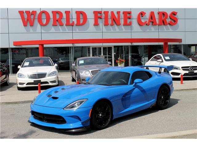 2016 Dodge Viper GTC (Stk: 16384) in Toronto - Image 1 of 22