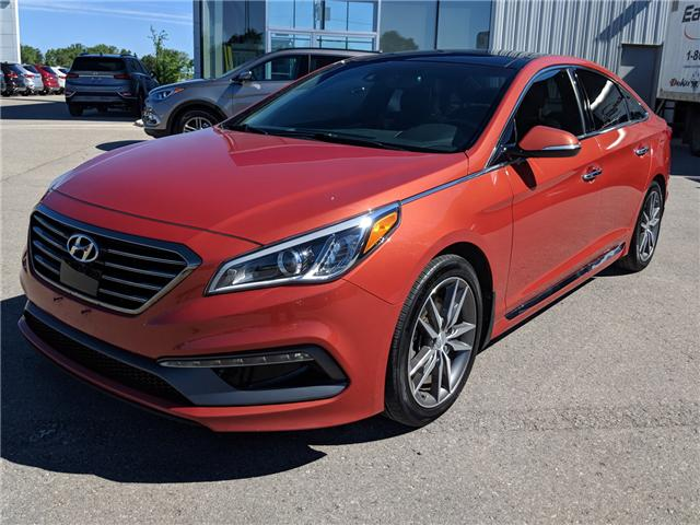 2015 Hyundai Sonata 2.0T Ultimate (Stk: 85054A) in Goderich - Image 2 of 18