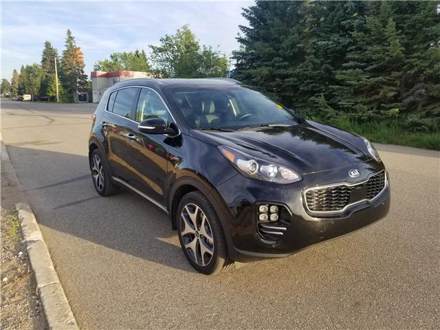2017 Kia Sportage SX Turbo (Stk: U18-32) in Nipawin - Image 1 of 28