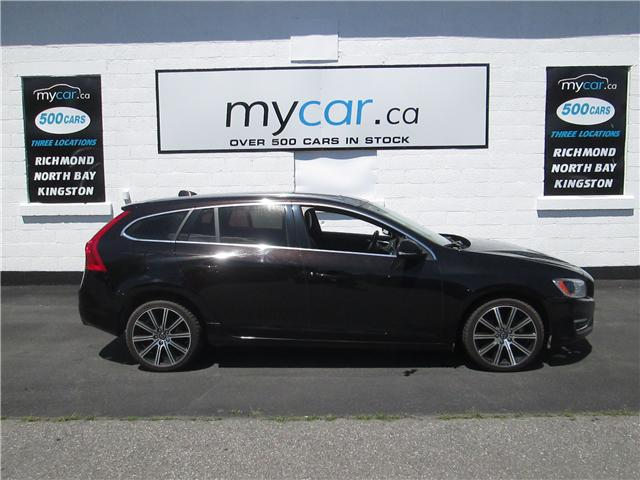2015 Volvo V60 T6 Premier Plus (Stk: 180794) in North Bay - Image 1 of 14