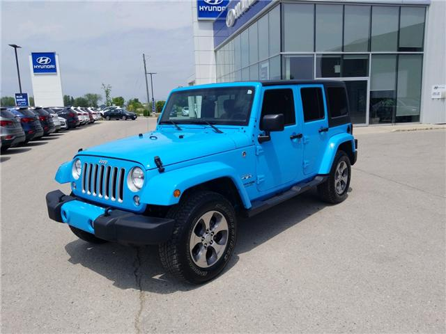 2018 Jeep Wrangler JK Unlimited Sahara (Stk: 85048) in Goderich - Image 2 of 16