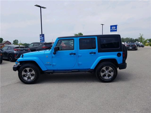 2018 Jeep Wrangler JK Unlimited Sahara (Stk: 85048) in Goderich - Image 2 of 15