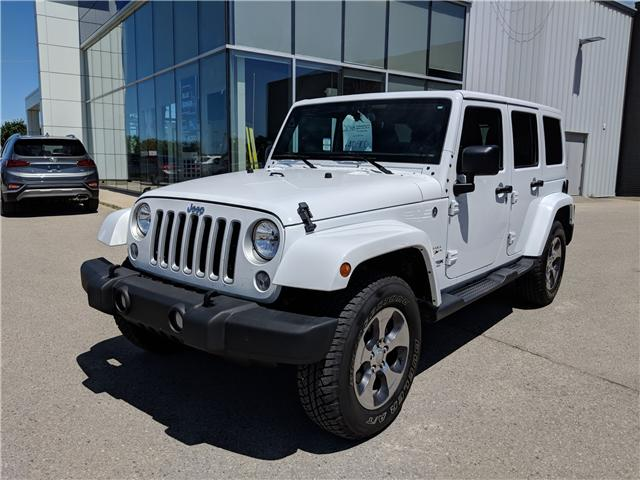 2018 Jeep Wrangler JK Unlimited Sahara (Stk: 85039) in Goderich - Image 1 of 14